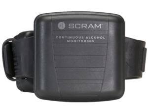 L.A. Monitoring SCRAM Continuos Alcohol Monitoring Bracelet